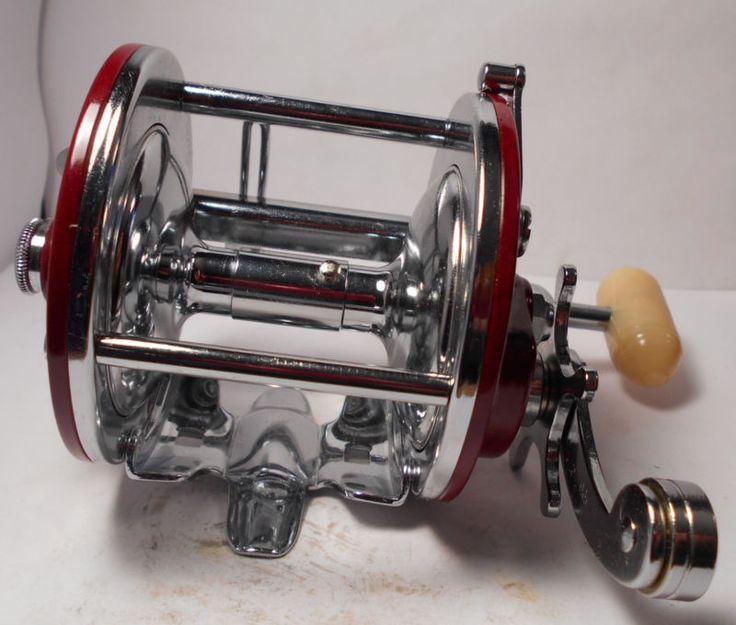 MINT Vintage PENN REELS Peer 209 Conventional Fishing Reel Box & More Excellent
