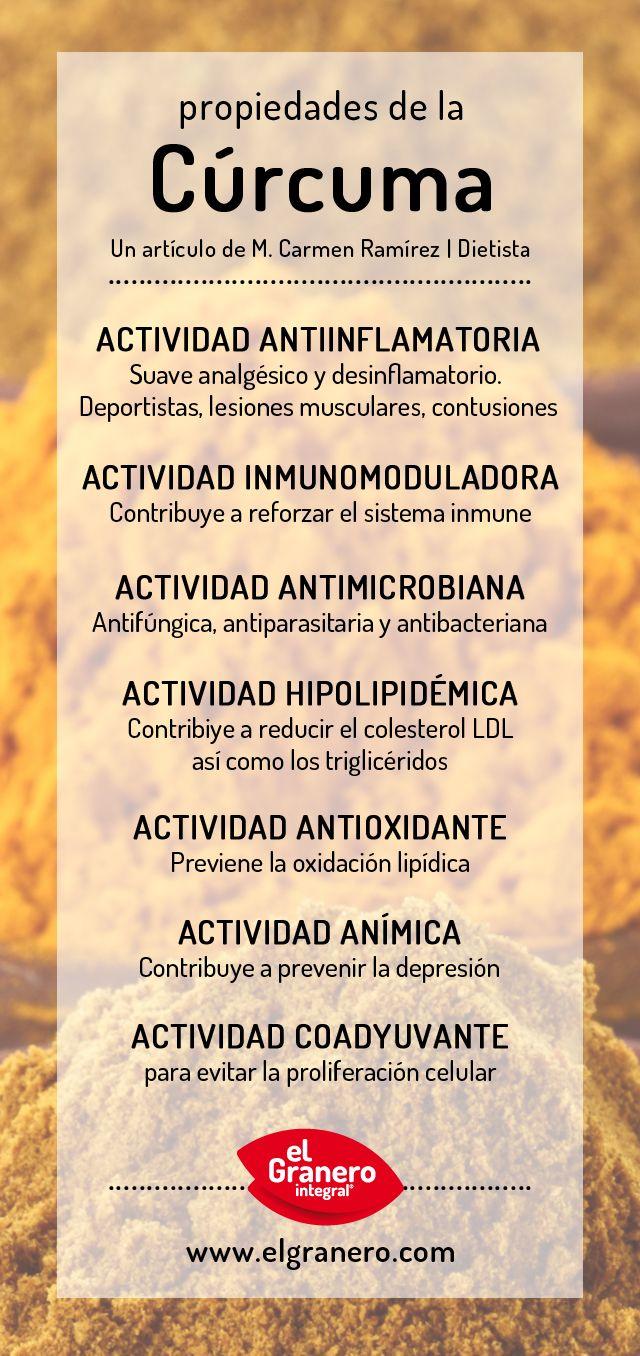 #propiedades de la #curcuma