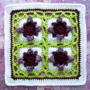 Sweet Peas and more amazing new afghan blocks - perfect for your next granny square project! Roundup at mooglyblog.com