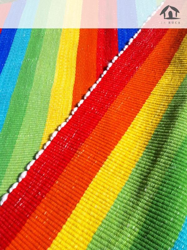 Alfombra Arcoiris - La Ruca Decoración www.larucadecoracion.cl
