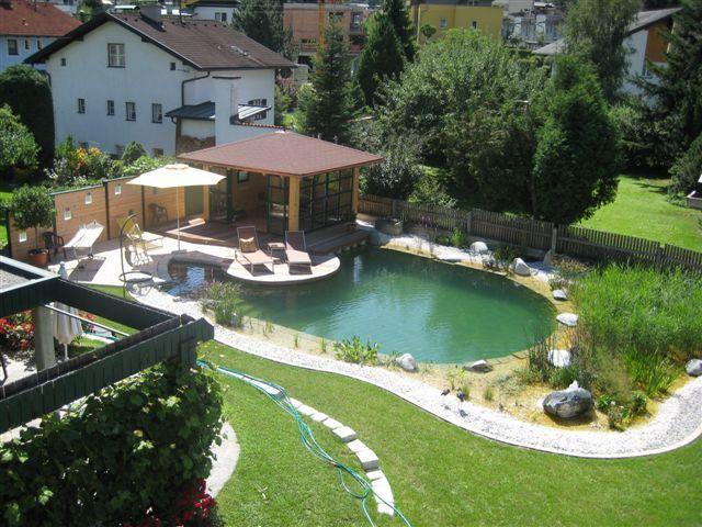 La construcci n de una nueva piscina natural albercas de for Construccion albercas naturales