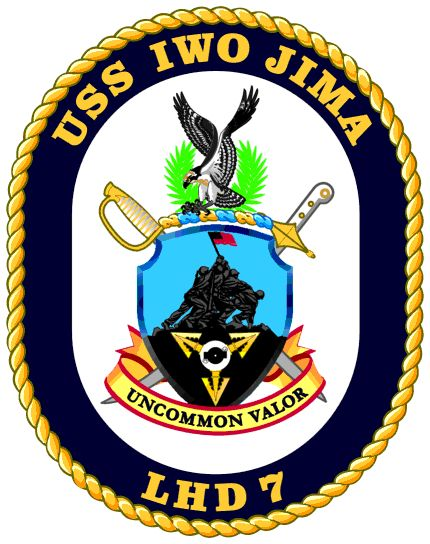 USS Iwo Jima crest