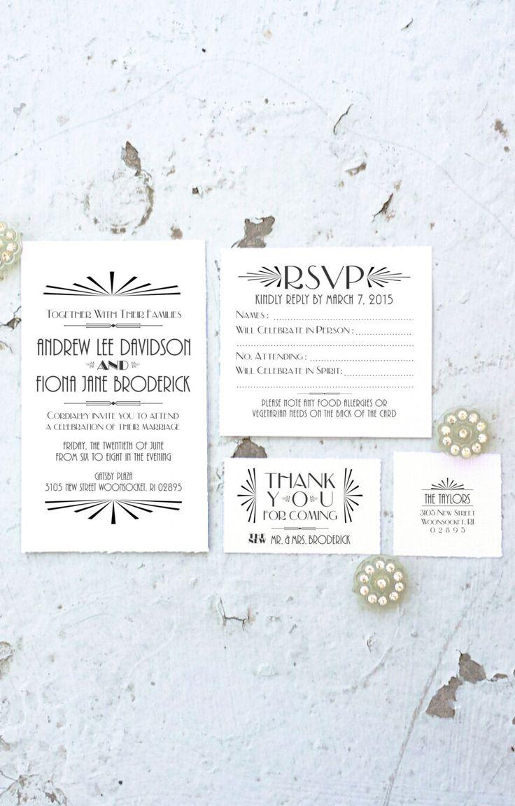 1088 best wedding - invitations, programs, menus, etc. images on ...