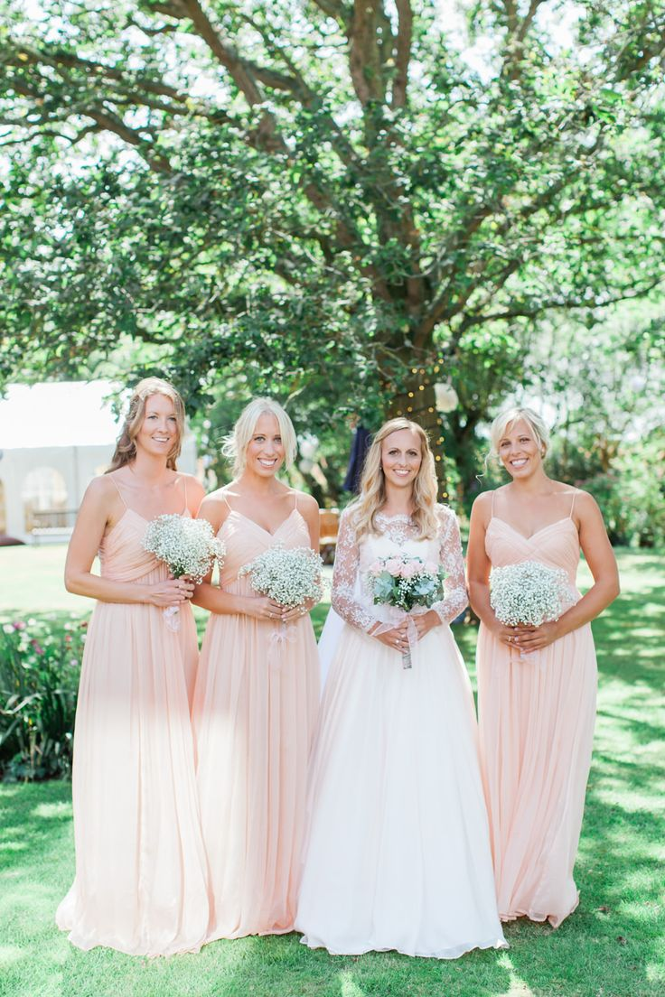 300 best coral wedding colour palette images on pinterest coral coral peach spaghetti strap full length bridesmaid dresses from mango image by camilla arnhold ombrellifo Image collections