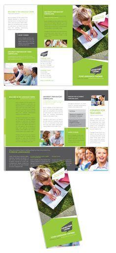 Best Trifold Images On   Flyer Design Brochure