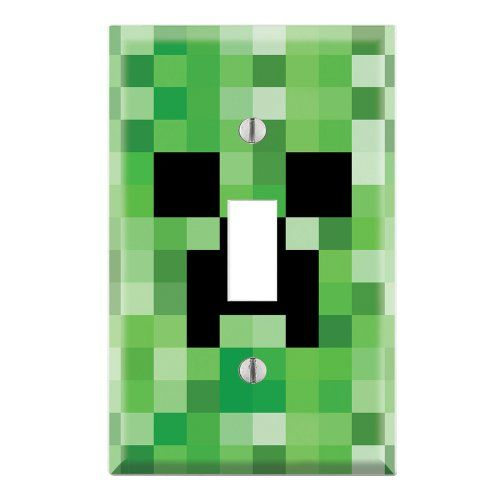 Minecraft Wall Light Mod : 17 Best images about Mack s Minecraft Bedroom on Pinterest Light switches, Duvet covers and Plush