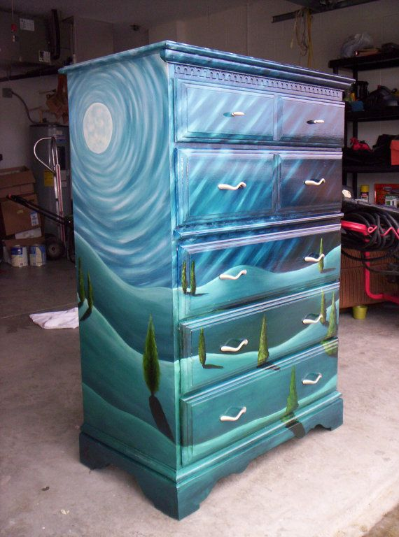 271 best images about boho hippie and gypsy furniture on - Hand painted furniture ideas ...