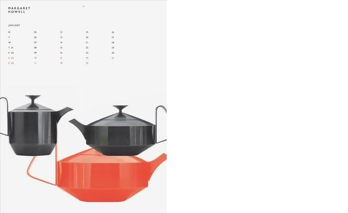 Robert Welch Tea Pots, from Margaret Howell calendar
