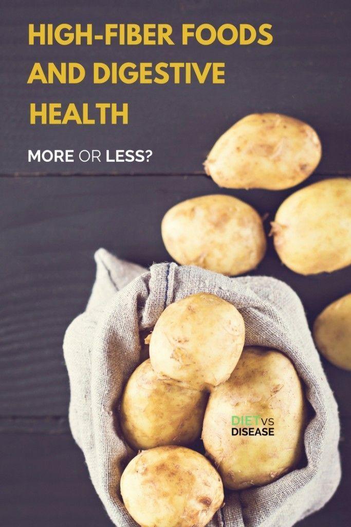 High Fiber Foods And Digestive Health More Or Less High Fiber