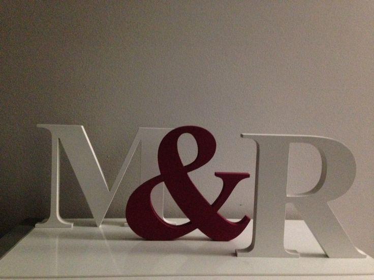 17 mejores ideas sobre letras decorativas en pinterest - Letras decorativas pared ...