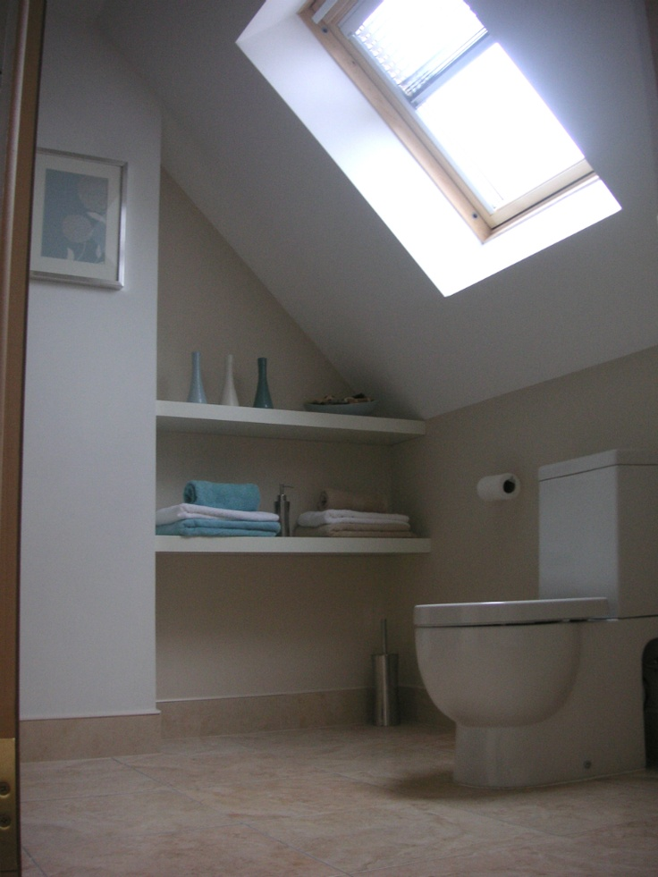17 best images about loft conversions interiors on for Bathroom ideas loft conversion