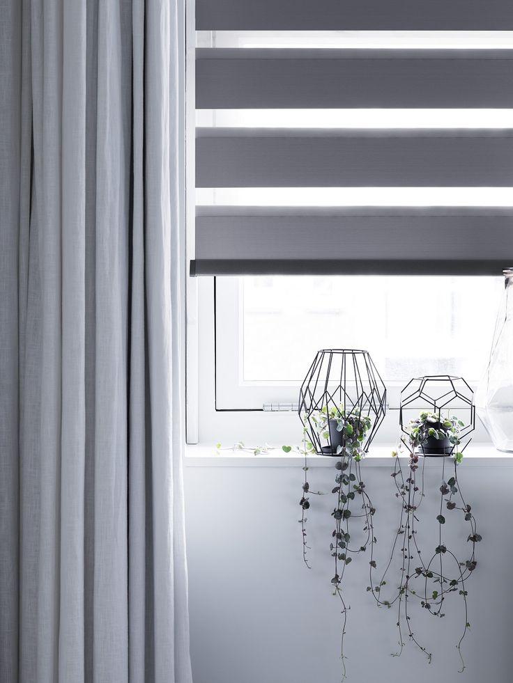 Duo rolgordijn #privacy #verduisterend #bece #raamdecoratie #wonen www.bece.nl