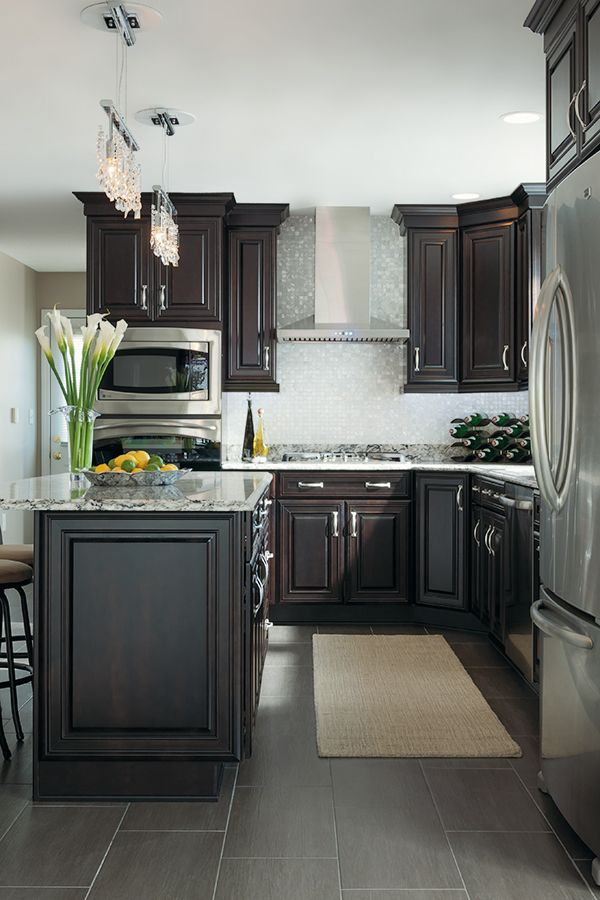 Masterbrand Cabinets Dealer Locator Dark Wood Kitchens Wood Tile Kitchen Trendy Kitchen Backsplash