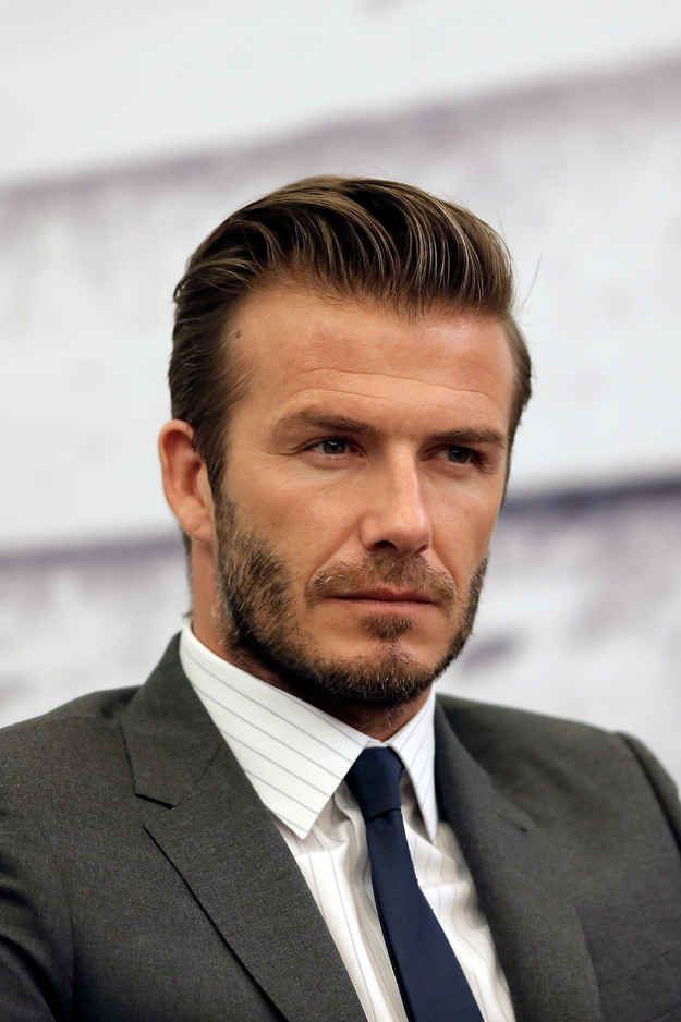 David Beckham. | The 23 Hottest Bearded Men In Britain