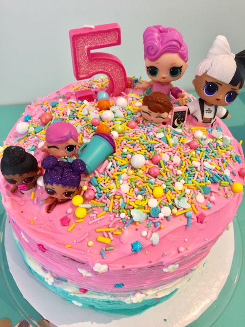 LOL Überraschungspuppe 5. Geburtstag Party Decor von Side by Side Design … LOL unter dem Motto …   – Birthday party