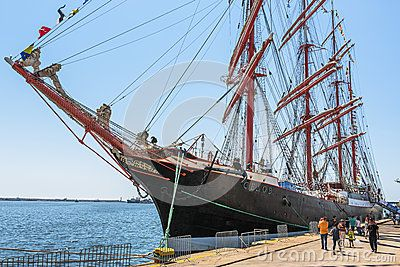 Anchored Tall Ship - Download From Over 24 Million High Quality Stock Photos, Images, Vectors. Sign up for FREE today. Image: 41275486