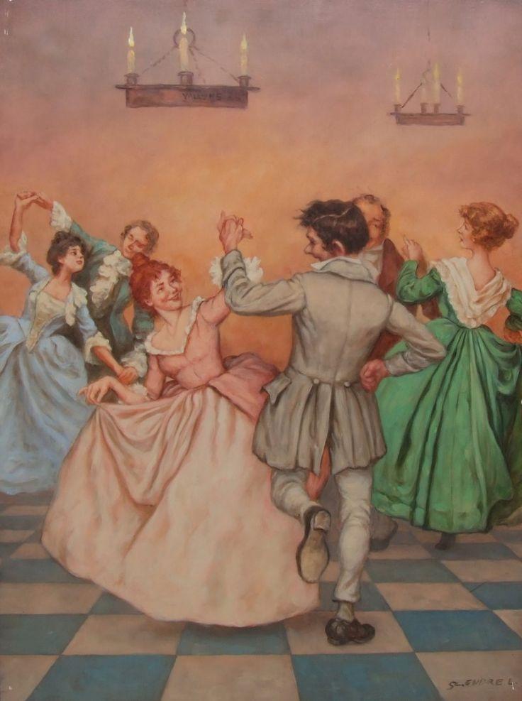 First ballers (Első bálozók) - artist: Szász Endre László