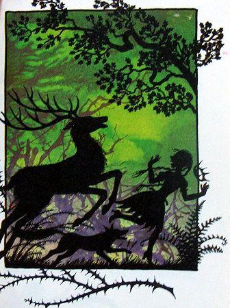 Snow White Jan Pienkowski illustration