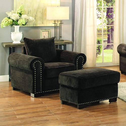 Found it at Wayfair - Wandal Arm Chair and Ottoman