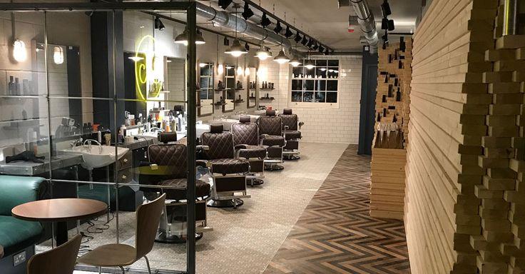Cutters Yard - Aveda Barbers Shop | Reis Design