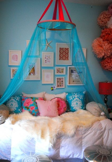 A DIY Canopy For Haleys Room I Think Can Actually Do This