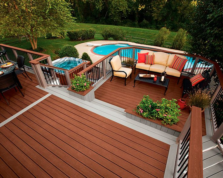 Antique Above Ground Pool Decking Designs Above Ground Pool Deck And Images  About Pool Ideas On Landscape Wood Deck The Unique Of Above Ground Swimming  Pool ...