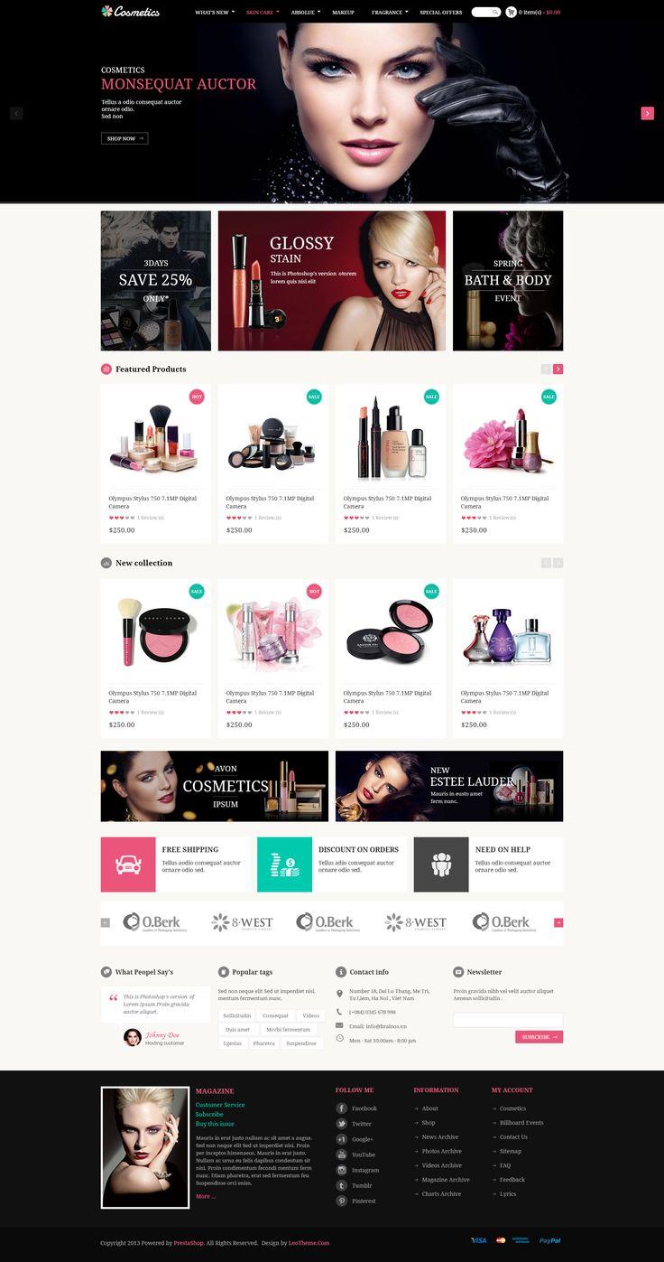 Leo Cosmetics Prestashop Theme - Download http://themeforest.net/item/leo-cosmetics-prestashop-theme/7960608?ref=pxcr