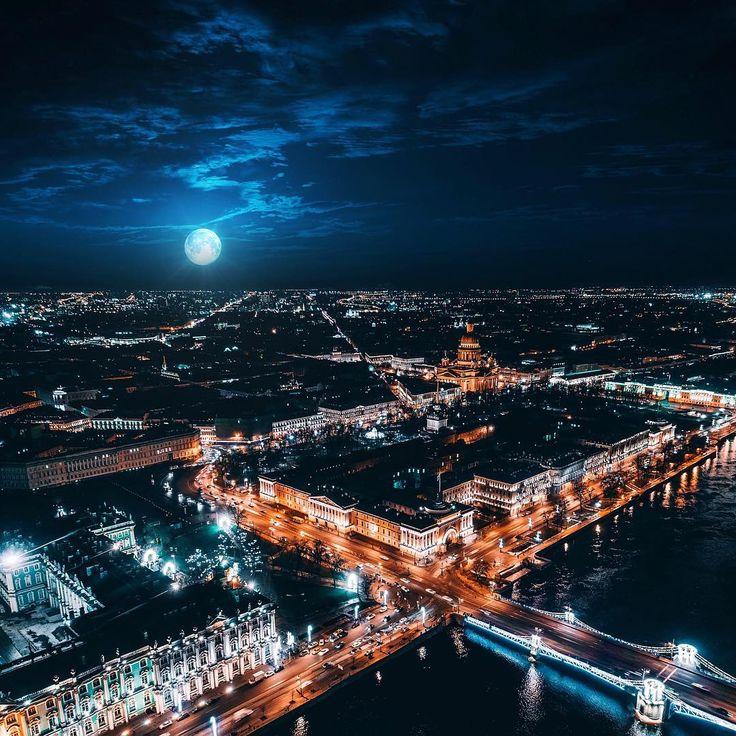 картинки ночные фото с высоты здесь часто