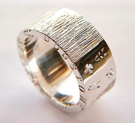 Handmade Silver Ring Chunky Silver Rings Design by DOGSTONE, £120.00