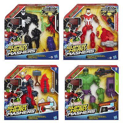 Marvel Super Hero Mashers Upgrade Deluxe Action Figures Hasbro Toys