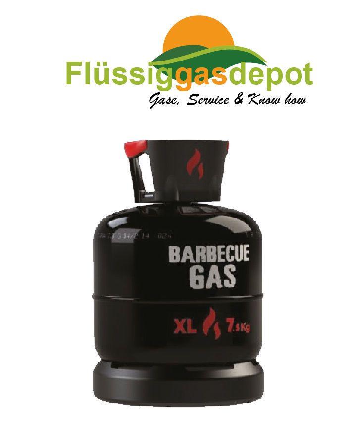 Propangasflasche 7,5 kg Gasflasche BBQ Gasflaschen Eigentum Nutzung mit TÜV leer