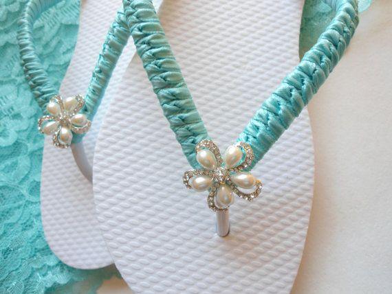 Tiffany Blue Wedding Tiffany Blue Shoes Beach by AdrianaDosSantos, $42.00