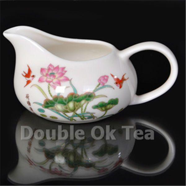 Модное костяной фарфор керамика Gongdao Bei чай чаша для фарфор чай комплект китайский чай чашки новинка элементы японский стиль