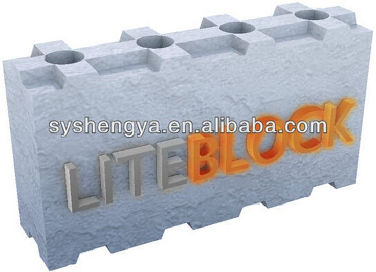 1000 ideas about concrete block prices on pinterest for Styrofoam concrete blocks