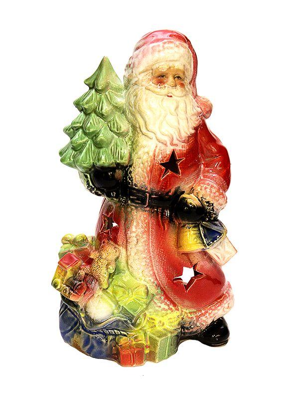 Подсвечник «Дед мороз».