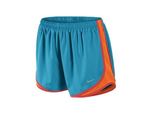 NIKE TEMPO TRACK SHORTS   Women's Running Shorts  ORANGE/TEAL ♥