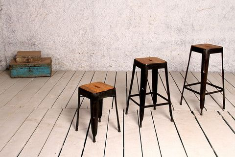 CFC-94B: Industry Bar Stool / 65 cms Height