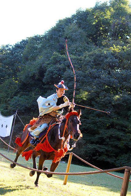 Yabusame - Japanese traditional horseback archery