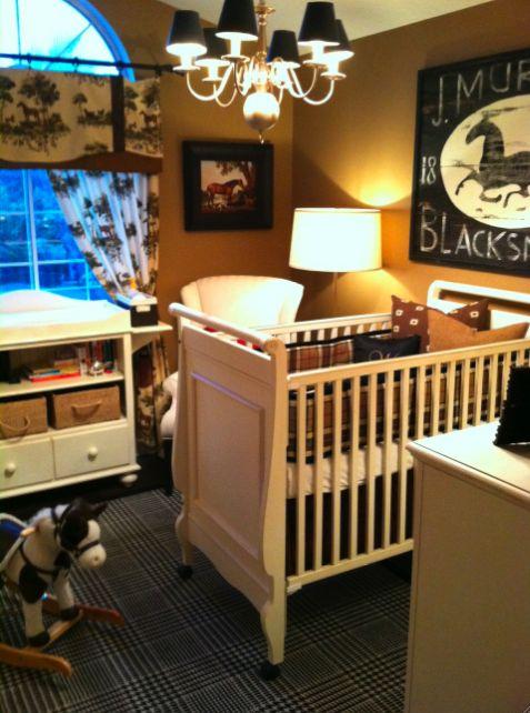 Baby Boy Room by Jamie Bellessa