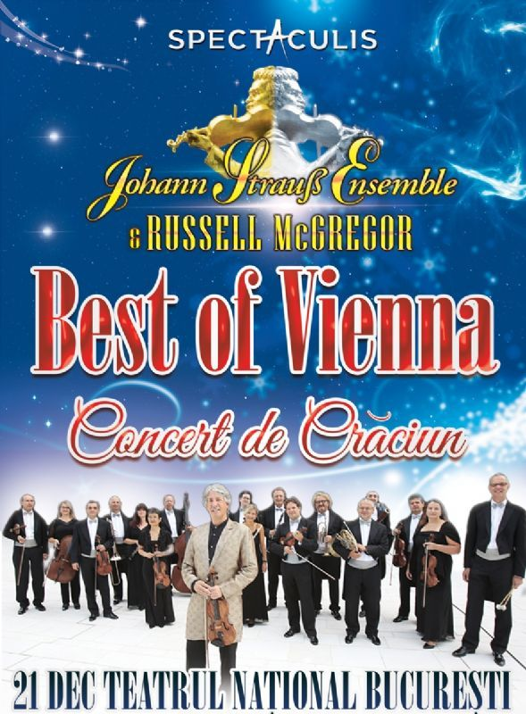 Luni, 21 Decembrie 2015, ora 20:00, Teatrul National I.L.Caragiale, Bucuresti