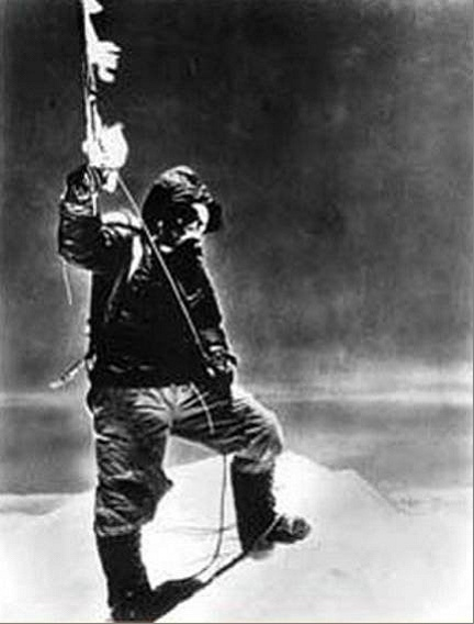 Sir Edmund Hillary  the first person to climb Mount Everest.