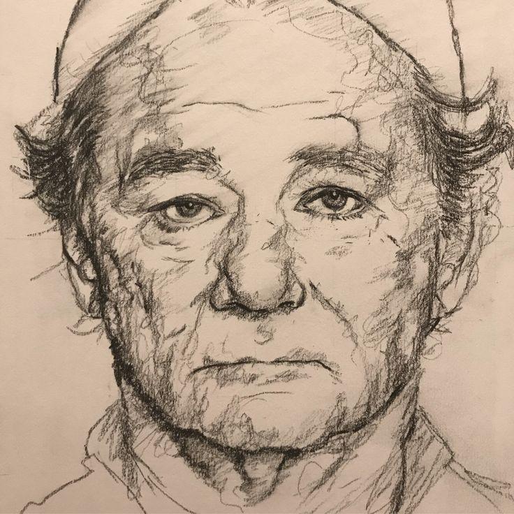 Bill Murray - Pencil