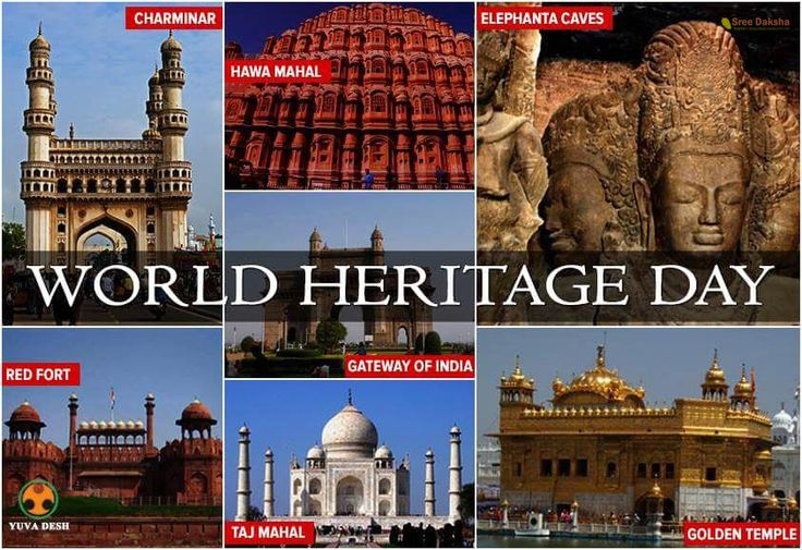 Its ‪#‎WorldHeritageDay‬ today, Let's work towards preservation of our heritage to transfer our rich culture to future generations