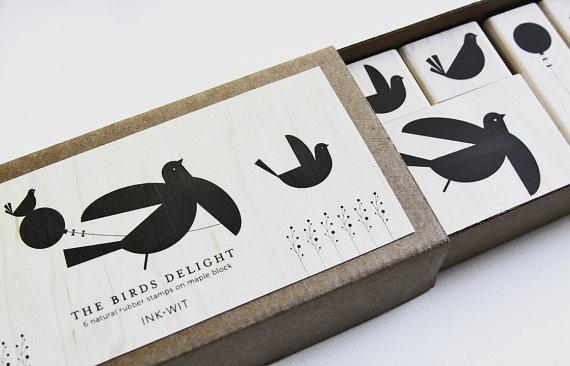 Vogel stempeltjes > echt iets voor jullie!