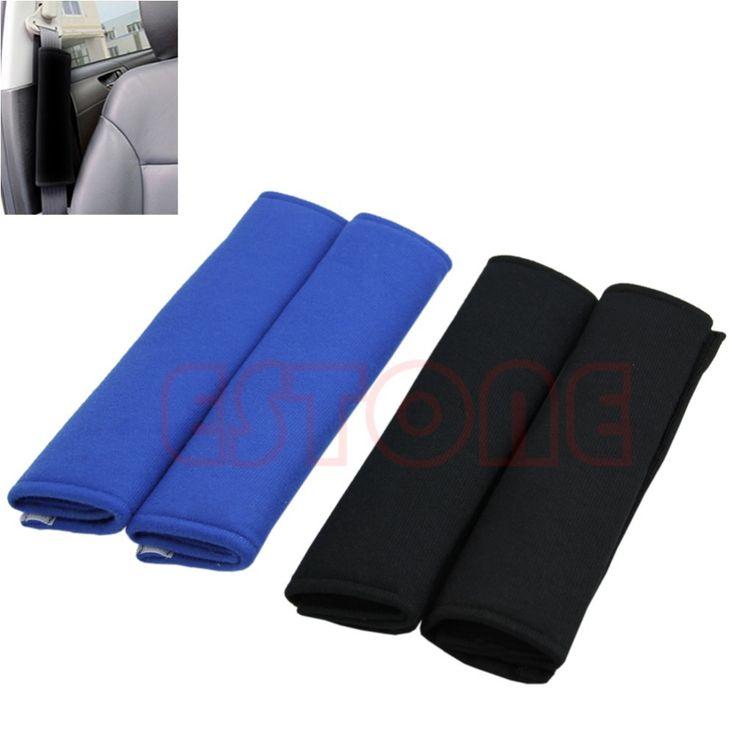 1 Para Komfortables Auto Sicherheitsgurt Schulterpolster Abdeckung Kissen Harness Pad
