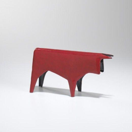 Gio Ponti and Paolo de Poli, Toro (Bull), Enamelled Copper, 1956.