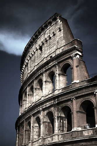The Colosseum is as imposing a sight in person as it is in photos, and it makes for a damn beautiful sight by night too!