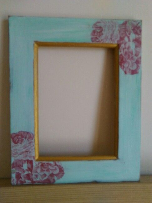 Old photo frame makeover