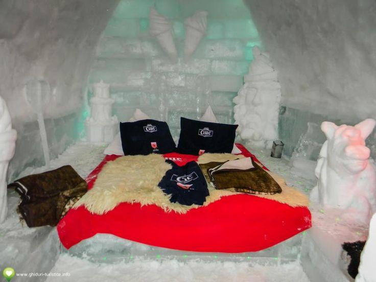Hotelul de gheţă de la Bâlea Lac