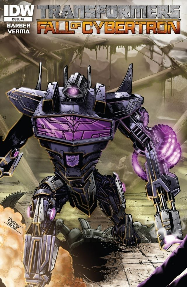 Transformers: Fall of Cybertron #2